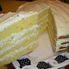 Creamy Lemon Fluff Layer Cake