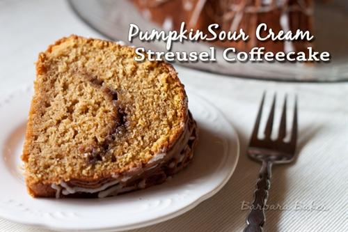 Pumpkin Sour Cream Coffeecake
