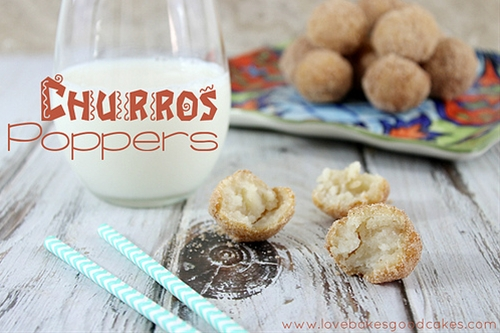 Churros Poppers