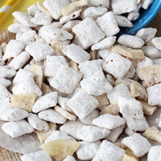 Banana Pudding Puppy Chow