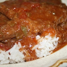 Creole Smothered Swiss Steak