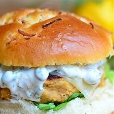 The Perfect Salmon Burger