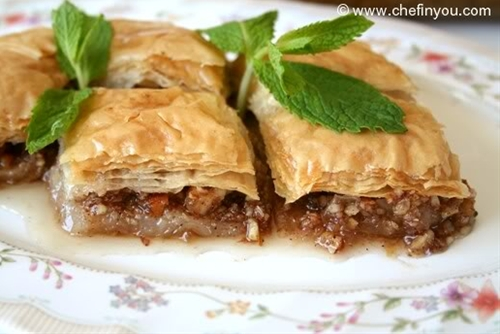 Best Turkish Baklava