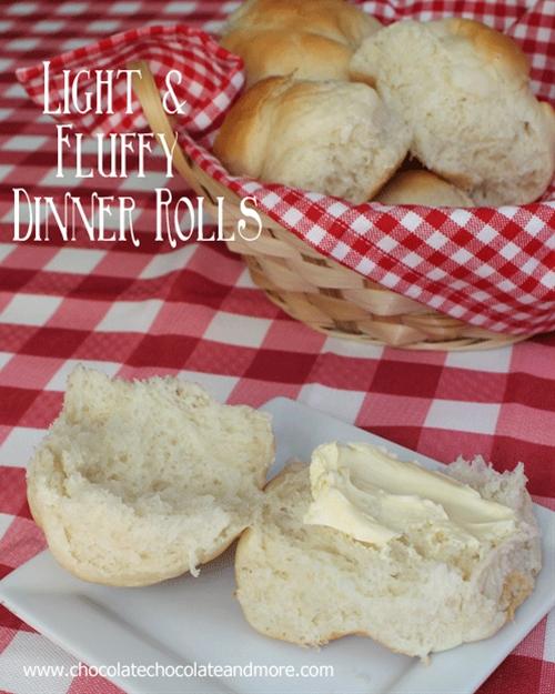 Light and Fluffy Dinner Rolls