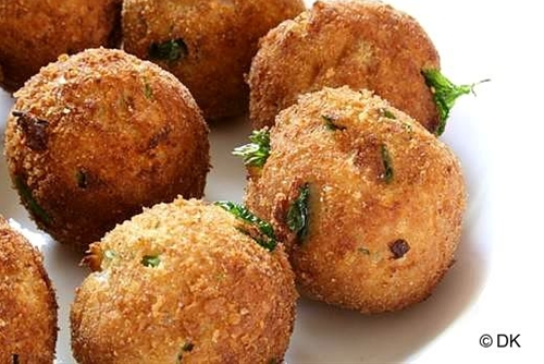 Ricotta Cheese fritters