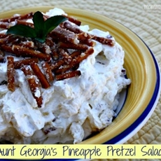 Aunt Georgias Pineapple Pretzel Salad