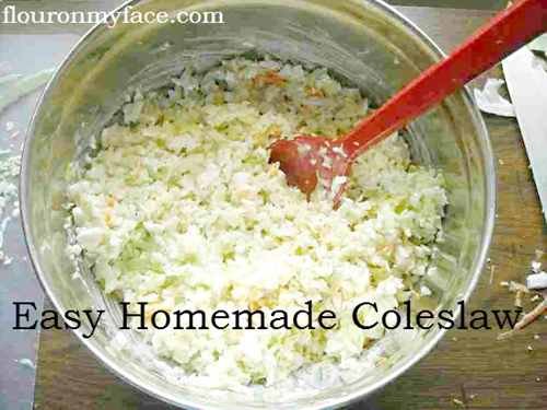 How To Make a Sweet Coleslaw