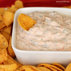 Super Easy Mexican Sour Cream Dip