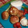 Chicken Cordon Bleu Balls