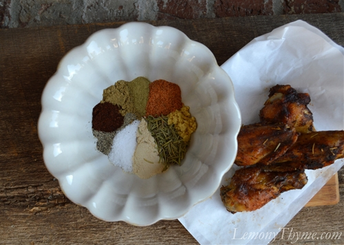 Mardi Gras Wings Seasoning