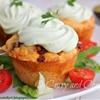 Taco Cupcakes with Avocado Cream Frosting
