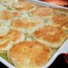 Homemade chicken & biscuits