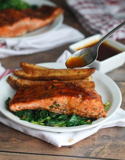 Jamaican Jerk Salmon