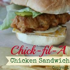 Chick-fil-A Crispy Chicken Sandwich Copycat