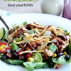 BBQ Chicken Salad {best salad ever!}