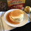 Apple Cider Pancakes and Syrup