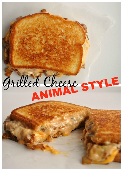 Grilled Cheese Animal Style