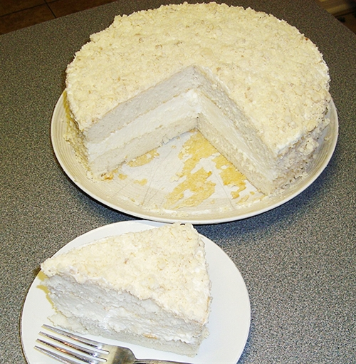 Olive Garden Lemon Cream Crumb Cake