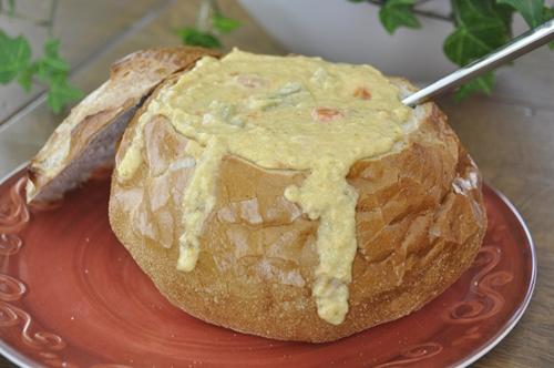 Creamy Broccoli Cheddar Soup