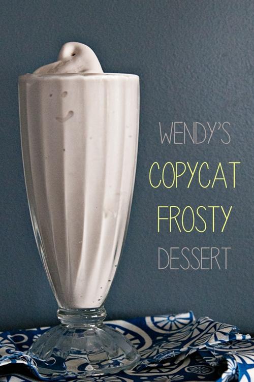 Wendys Copycat Frosty