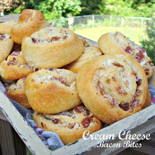 Cream Cheese Bacon Bites
