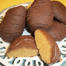Homemade Peanut Butter Eggs