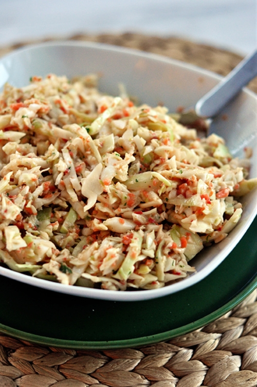 My Favorite Coleslaw Recipe