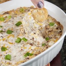 Creamy Bacon & Cheese Dip