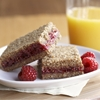 Whole Grain Raspberry Breakfast Bars