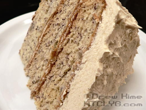 Banana Cake & Brown Sugar Buttercream Frosting