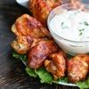 Chicken wings shawarma