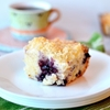 Blueberry Cream Cheese Coffee Cake with Crispy Butter Streusel