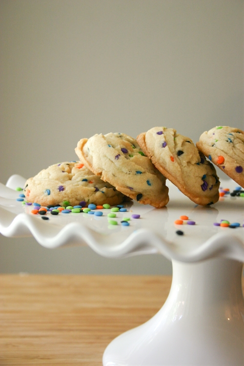 Puffy Sprinkle Sugar Cookies.
