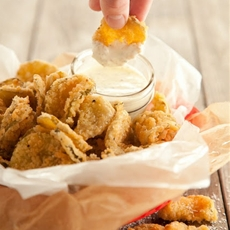 """Fried"" pickles"