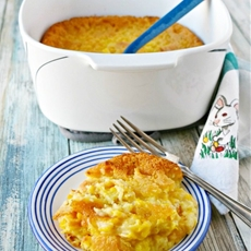 Nanas Corn Pudding #SundaySupper