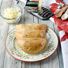Apple Cheddar Hand Pies #ChristmasSweetsWeek