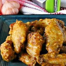 Garlic Peri-Peri Baked Wings