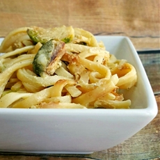 Roasted Brussels Sprouts Carbonara