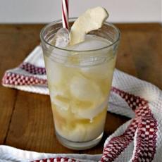 Caramel Apple Yerba Mate Iced Tea #IcedTeaDay