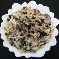 Triple Treat Cabbage Salad