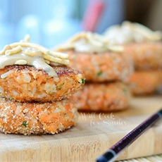Asian Salmon Patties