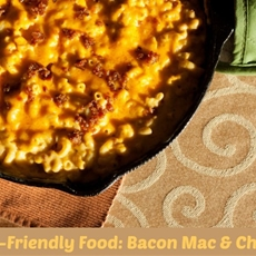 Teen-Friendly Food: Bacon Macaroni & Cheese