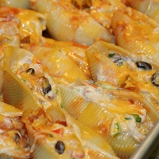 "Mexican Chicken Stuffed Shells: My ""Secret Recipe Club"" Entry for June"