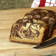 Moist, Decadent Chocolate Swirl Banana Bread