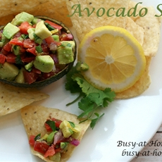 Avocado Salsa: Simple, Quick, Delicious AND Healthy!