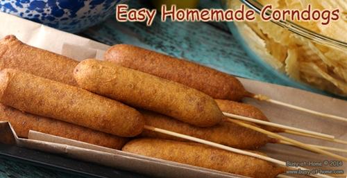 How to Make Homemade Corndogs