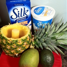 Fruity & Protein Packed Homemade Smoothie: Tropical Sunrise Smoothie -
