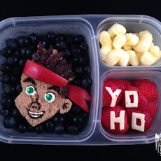 Lunchbox Dad:  Jake and the Neverland Pirates lunch #cbias