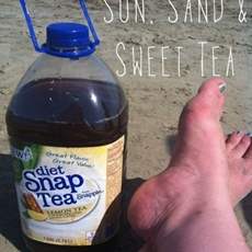 Sun, Sand and Snapple Sweet Tea