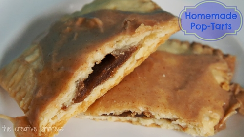 Homemade Brown Sugar and Cinnamon Pop-Tarts